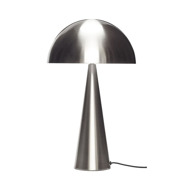 Bordslampa, nickel 30cm