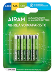 Gröna Power Batterier AAA, 4-pack