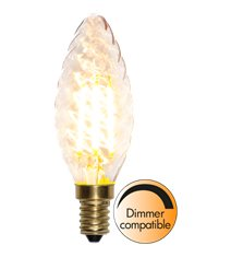 Filament-LED decoration kron 4W(35W) E14, soft glow dimbar