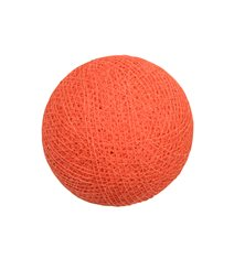 Bright orange ball