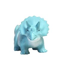 Triceratops mini LED, turkos