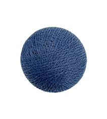 Dark denim ball
