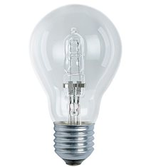 Halogen normal klar E27, 105W(135W)