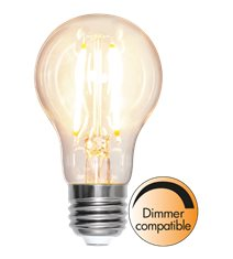 Filament-LED normal 8W(60W) E27, dimbar