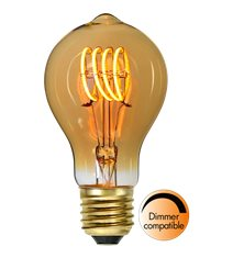 Flexifilament-LED normal 2,5W(10W) E27, amber dimbar