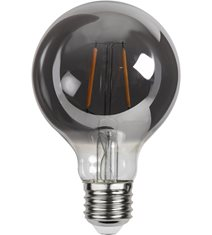 LED-lampa E27 G80 Plain Smoke