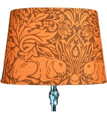 Linus 23 lampskärm Brer Rabbit Orange