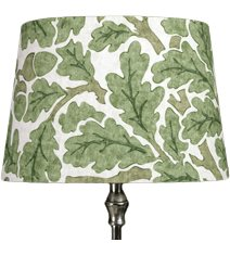 Linus 23 Lampskärm Oak, Forest/Cream